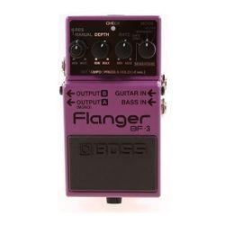 Pedal-Para-Guitarra-Electrica-Boss-Flanger-Bf-3-Analogico