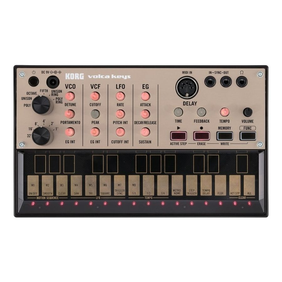 Sintetizador-Analogo-De-Loops-Korg-Volca-Keys---Midi
