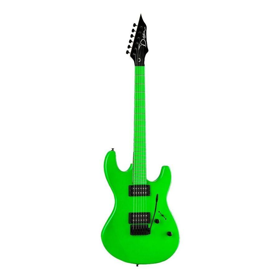 Guitarra-Electrica-Dean-Custom-Zone-Flp-Verde-Fluorescente