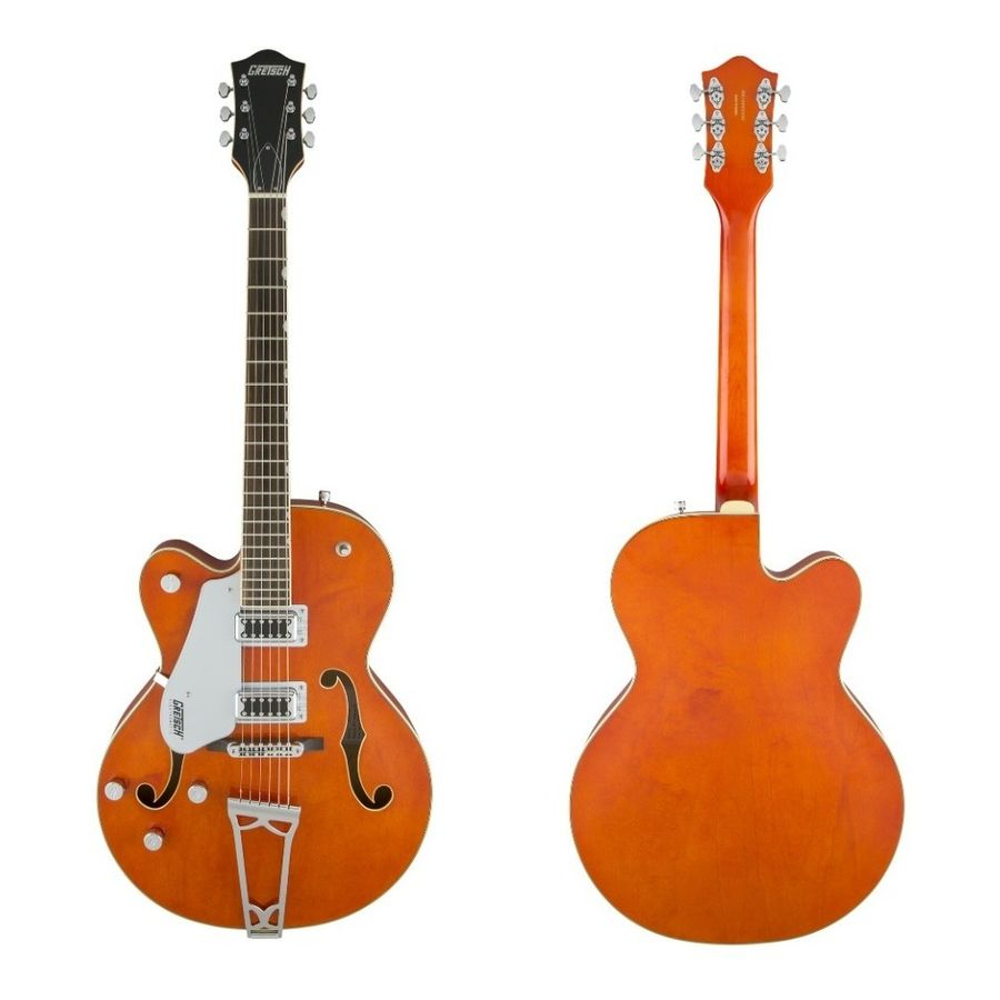 Guitarra-Electrica-Gretsch-G5420lh-Zurda-Hollow-Body-Orange