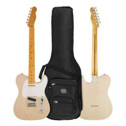 Guitarra-Fender-Classic-Mexico-50s-Telecaster-Con-Funda