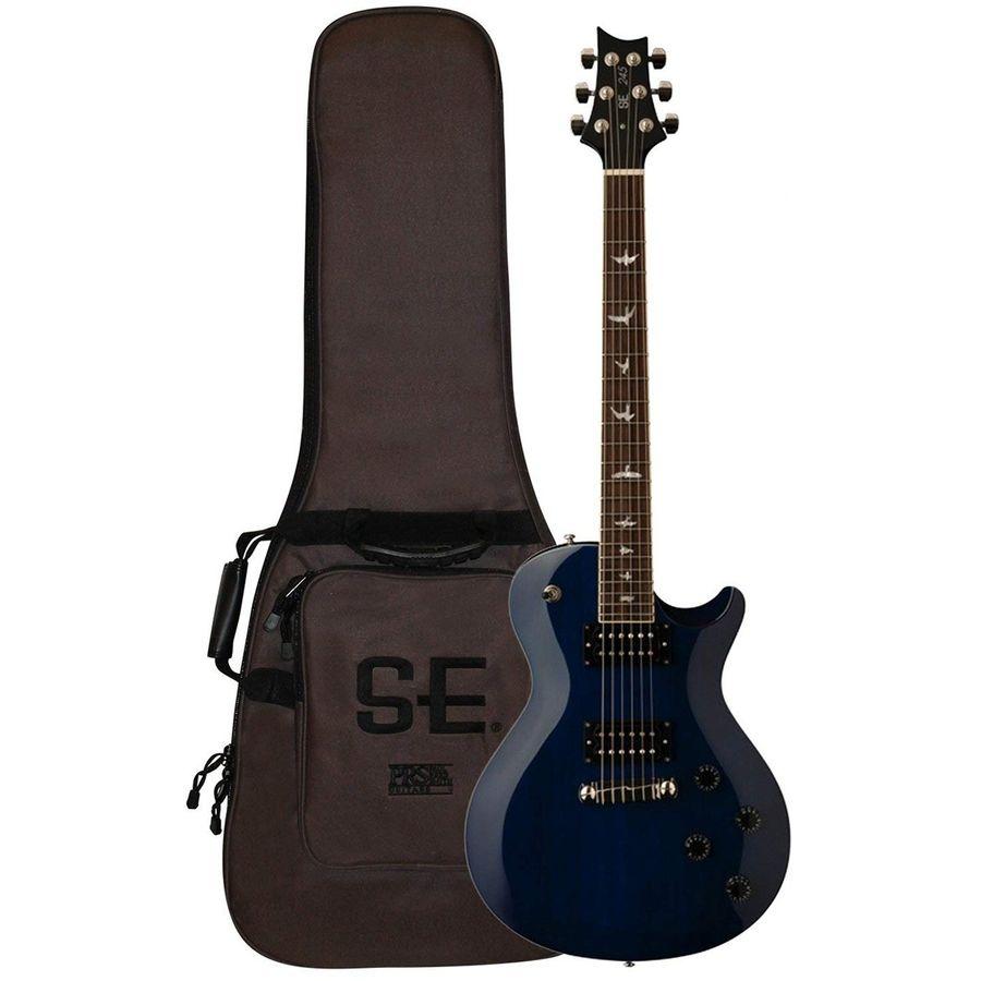 Prs-Guitarra-Electrica-Se-Standard-Se245sttb-Funda-Blue