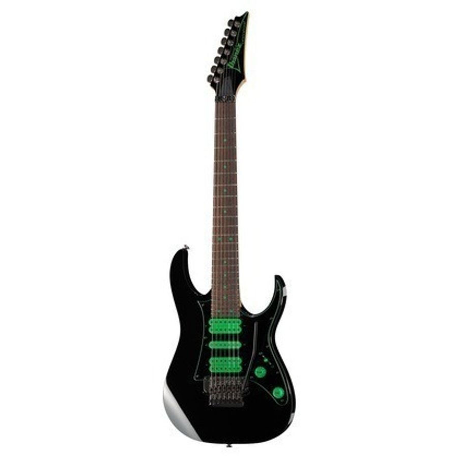 Guitarra-Electrica-Ibanez-Uv-70-pbk-7-Cuerdas-Cosmo-Black