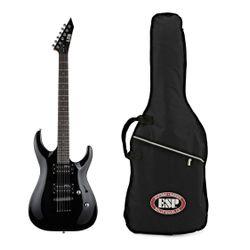 Guitarra-Electrica-Ltd-Esp-Mh10-Humbuckers-Con-Funda-Negro