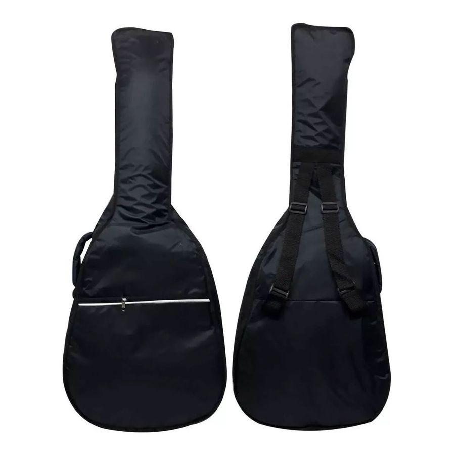 Funda-Tela-De-Avion-Acolchada-Guitarra-Clasica-Criolla-Impermeable-Acolchada-Con-Bolsillo-Frontal-Para-Accesorios
