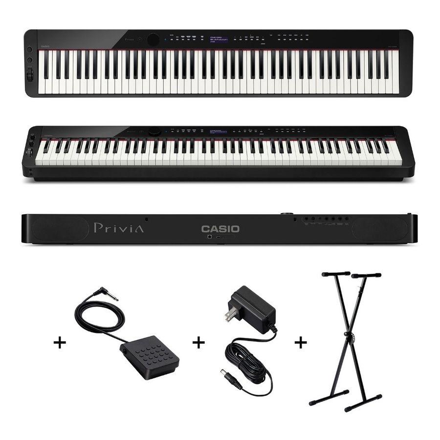 Piano-Casio-Privia-Px-s3000-88-Teclas-Pesadas-Soporte