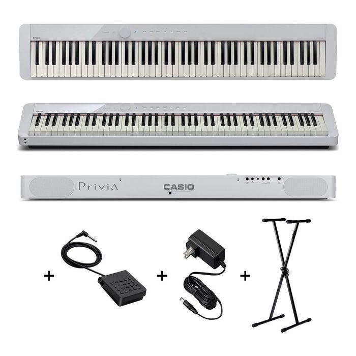 Piano-Casio-Privia-Px-s1000-88-Teclas-Pesadas-Soporte