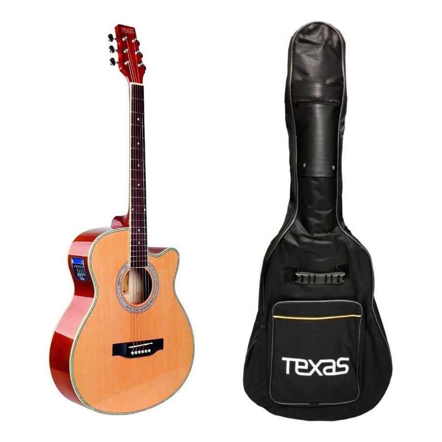 Guitarra-Electro-Acustica-Texas-Ag60-Eq-Afinador-Funda