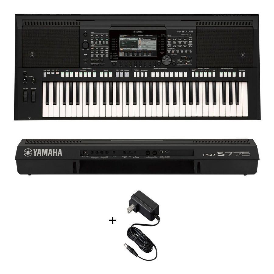 Teclado-Organo-Yamaha-Psrs-775-61-Teclas-Sensitivo-Usb-Midi