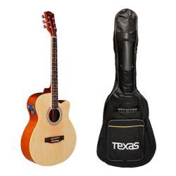 Guitarra-Electro-Acustica-Texas-Ag10-Eq-Afinador-Funda