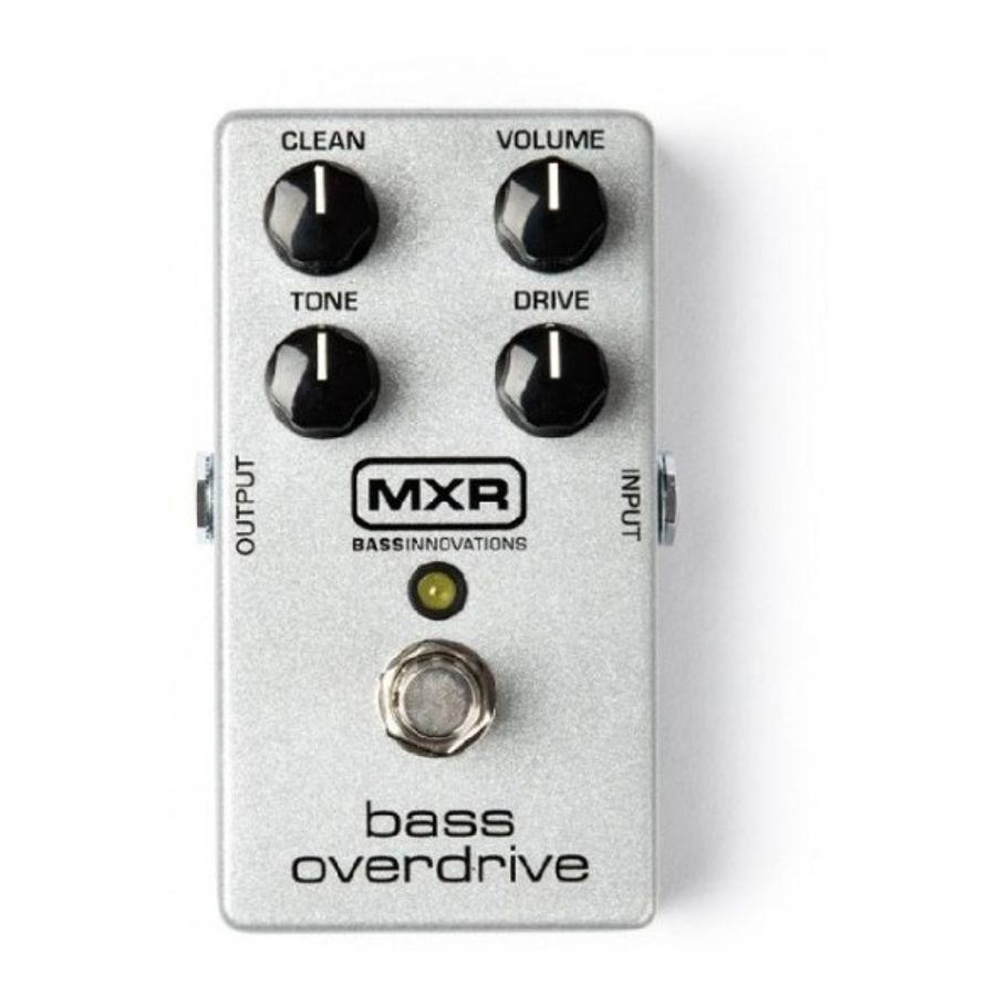 Pedal-De-Efecto-Mxr-M89-Para-Bajo-Bass-Overdrive