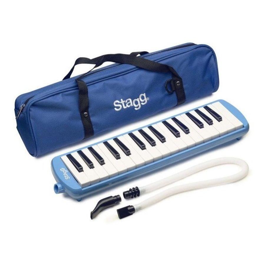 Flauta-Melodica-Stagg-De-32-Teclas-Con-Estuche-Original-Y-Boquilla-Tubo-Flexible-Portatil-Ideal-Para-Estudio-En-Colores