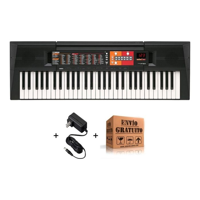 Teclado-Organo-Yamaha-Psrf-51-De-61-Teclas-Lcd-Con-Retroiluminacion-Polifonia-Maxima-32-Incluye-Fuente