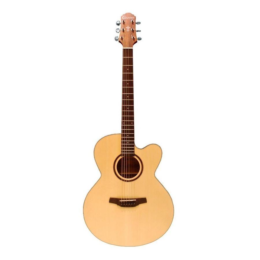 Guitarra-Acustica-Jumbo-Con-Corte-Eq-Crafter-Hj-100ce-Pino
