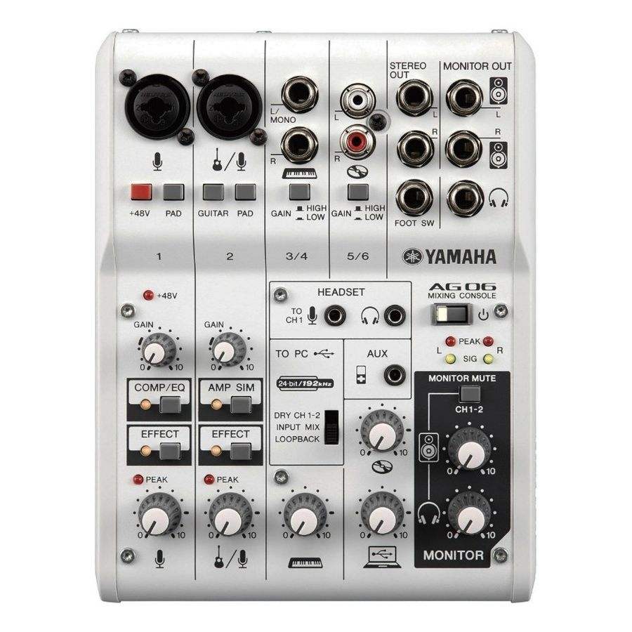 Mixer-Consola-Yamaha-Ag06-De-6-Canales-Interface-Usb