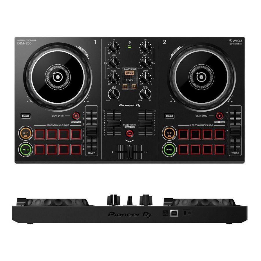 Controlador-Dj-Pioneer-Ddj-200-Usb-Bluetooth-2-Canales-Loop
