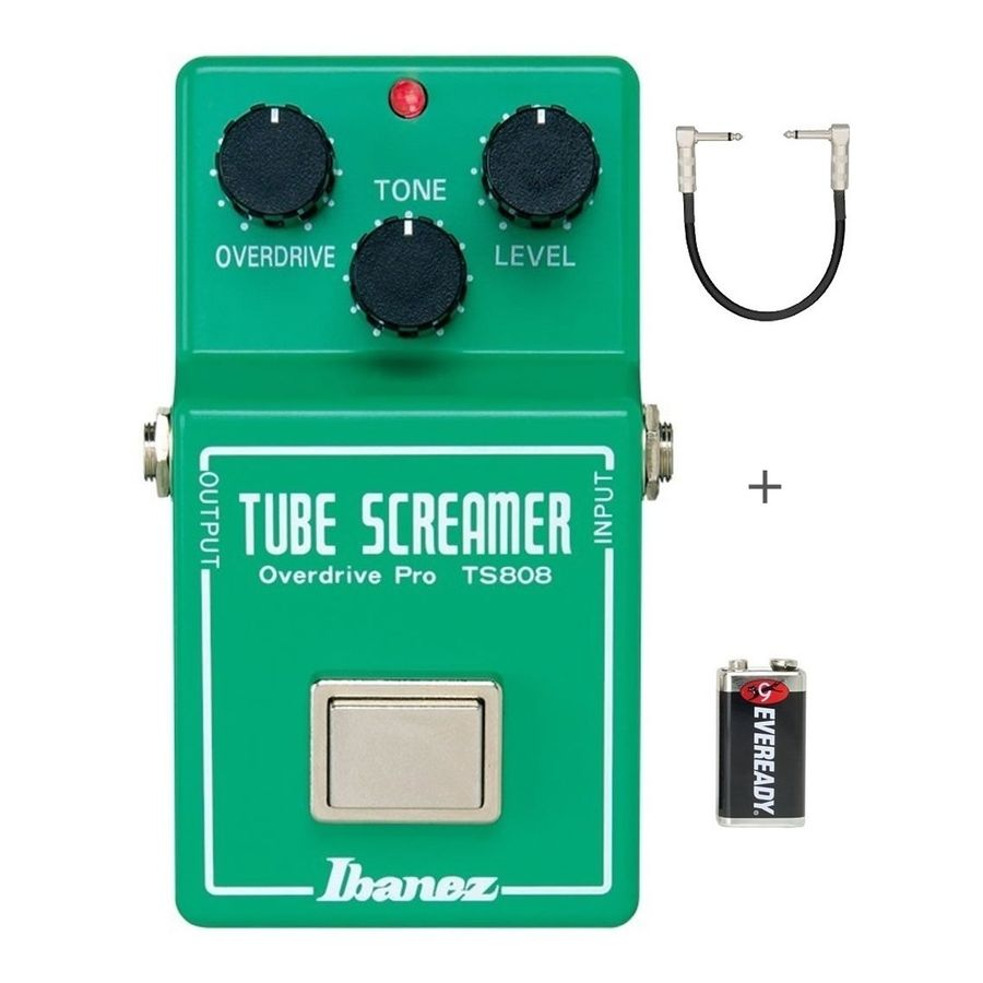 Pedal-Overdrive-Ibanez-Guitarra-Ts808-Pro-Tube-Screamer