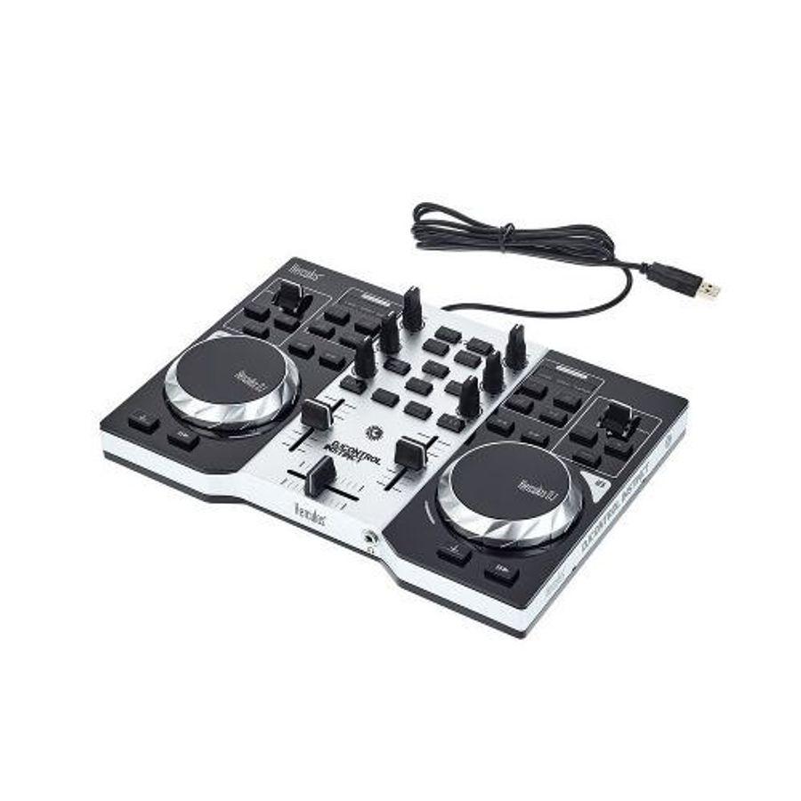 Mixer-Consola-Controlador-Dj-Bandejas-Instinct-Hercules