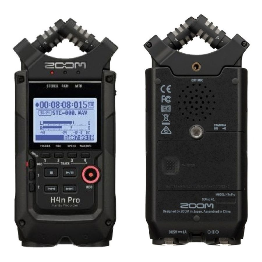 Handy-Recorder-Zoom-H4n-Pro-Usb-Grabador-Digital-4-Canales