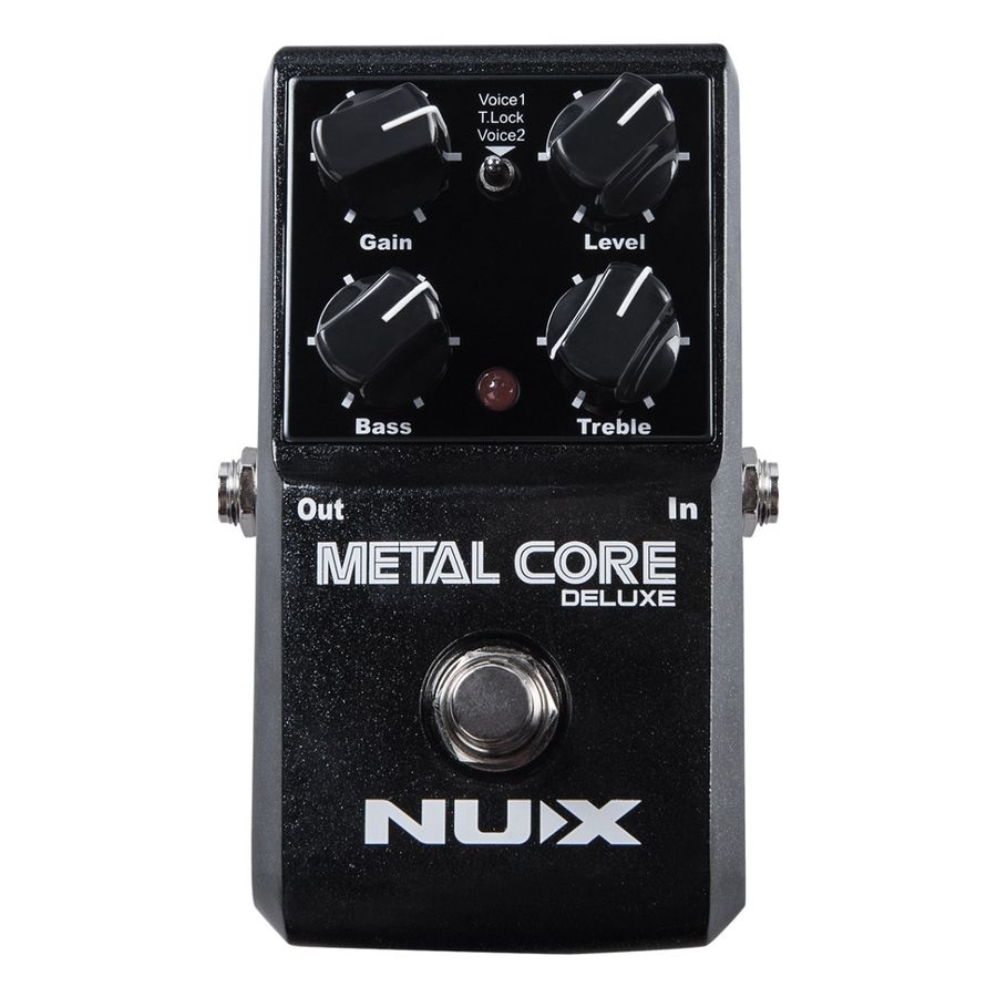 Nux-Deluxe-Metal-Core-Pedal-De-Distorsion-Para-Guitarra