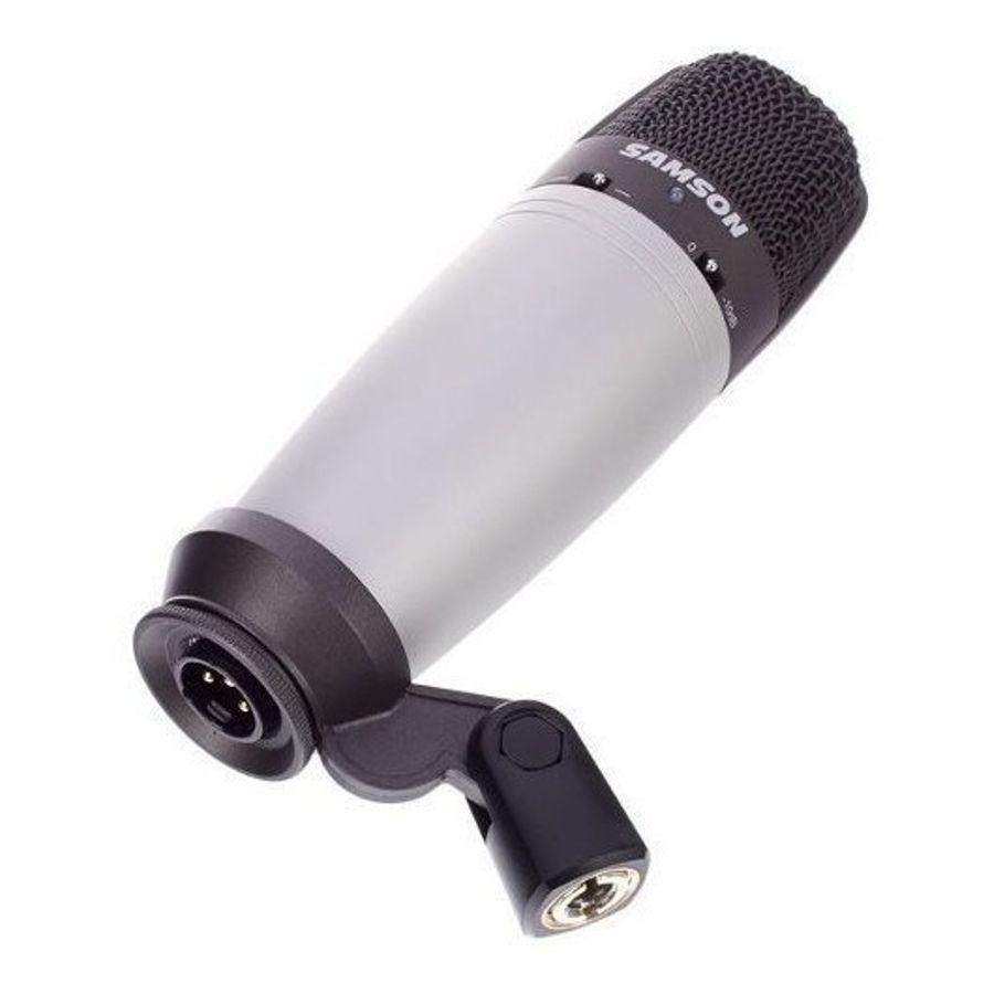 Microfono-Condenser-Samson-C03-Estudio-Multipatron-Estuche