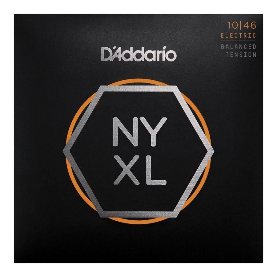 Encordado-Para-Guitarra-Electrica-Daddario-New-York-Nyxl1046bt-Calibres-010-046w-Aleacion-De-Acero-Tension-Balanceada