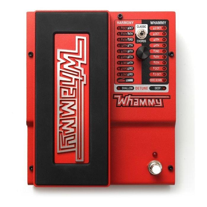 Pedal-Para-Guitarra-Electrica-Digitech-Whammy-True-Bypass-Presets-Y-Efectos-Por-Midi-Con-Carcasa-Robusta-De-Metal