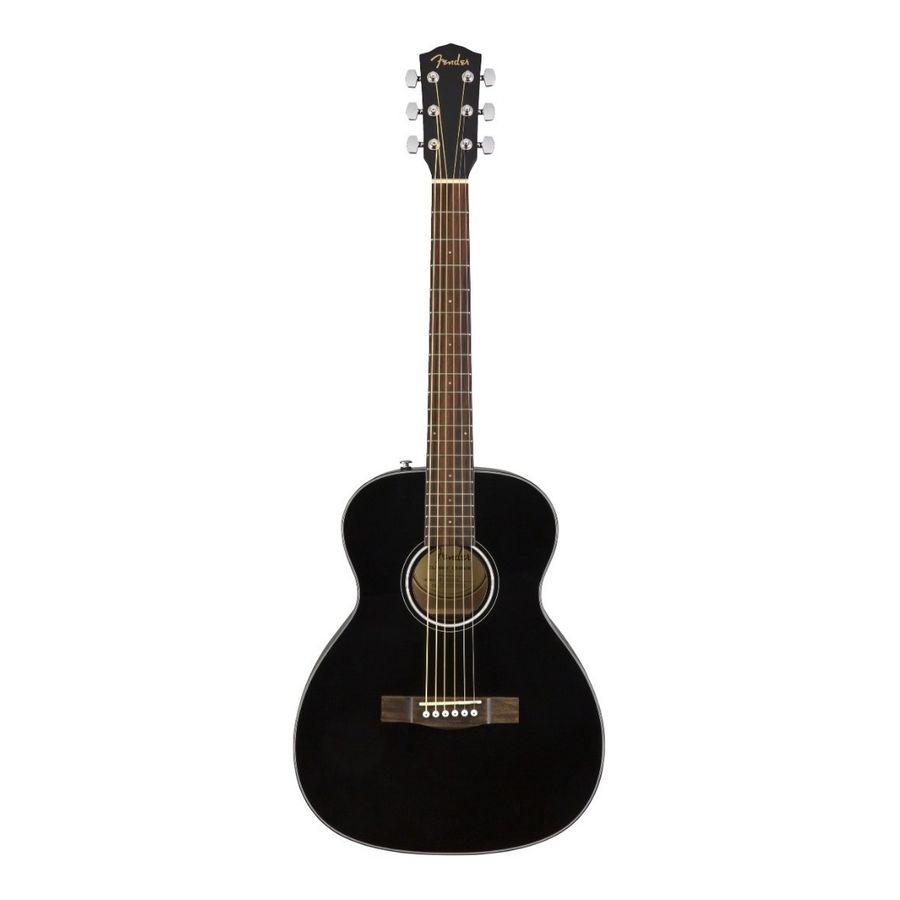 Guitarra-Acustica-De-Viaje-Fender-Ct-60s-Negro-Abeto-Solido
