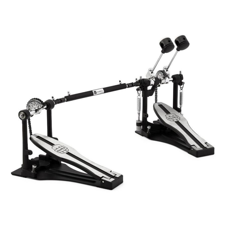 Pedal-Doble-De-Bombo-Mapex-P400tw-Cadena-Simple