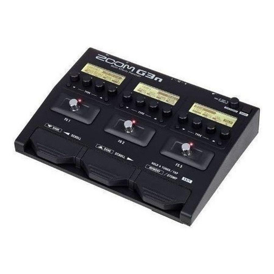 Pedalera-Zoom-G3n-Para-Guitarra-Multiprocesador-De-Efectos-Con-Loop