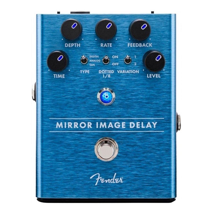 Pedal-Fender-Efecto-De-Guitarra-Electrica-Mirror-Image-Delay