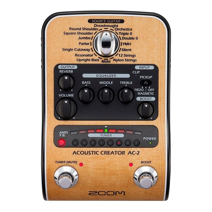Pedal-Guitarra-Acustica-Zoom-Ac2-Con-Afinador-Preamp-Usb
