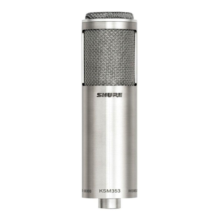 Microfono-Condenser-Shure-Ksm353-De-Cinta-Bi-direccional