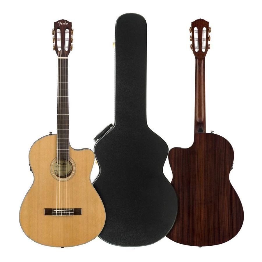 Guitarra-Electroacustica-Fender-Cn-140sce-Concierto-Nylon