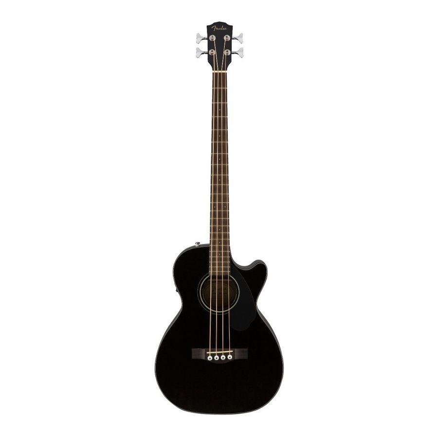 Bajo-Electro-Acustico-Fender-Cb-60sce-Negro-Fishman-Abeto
