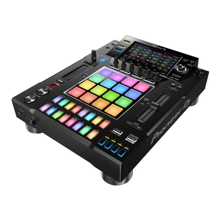 Sampler-Autonomo-Pioneer-Djs-1000---Pantalla-Tactil-Usb