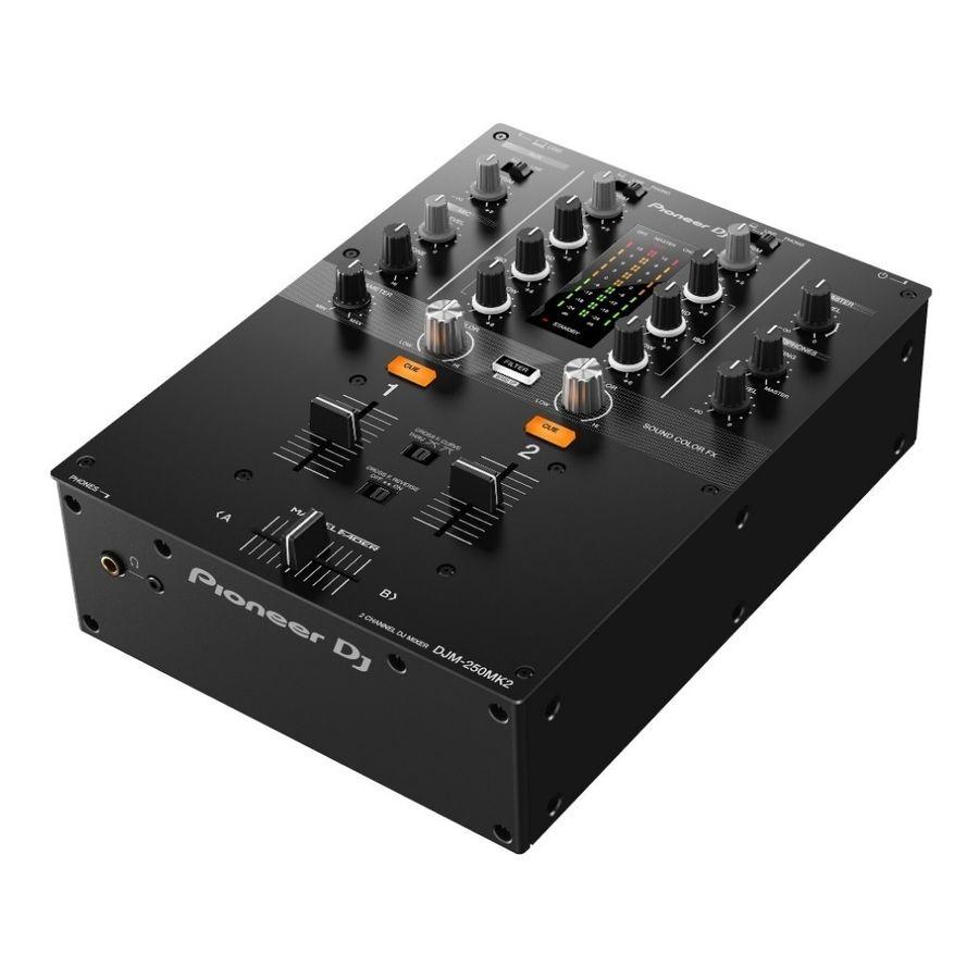 Mixer-Consola-Mezclador-De-2-Canales-Dj-Pioneer-Djm-250-Mkd2