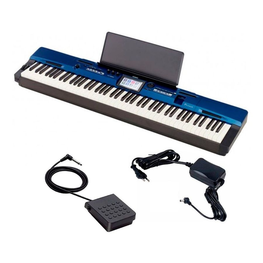 Piano-Digital-Casio-Privia-Px560mbe-88-Teclas-Acc-Martillo