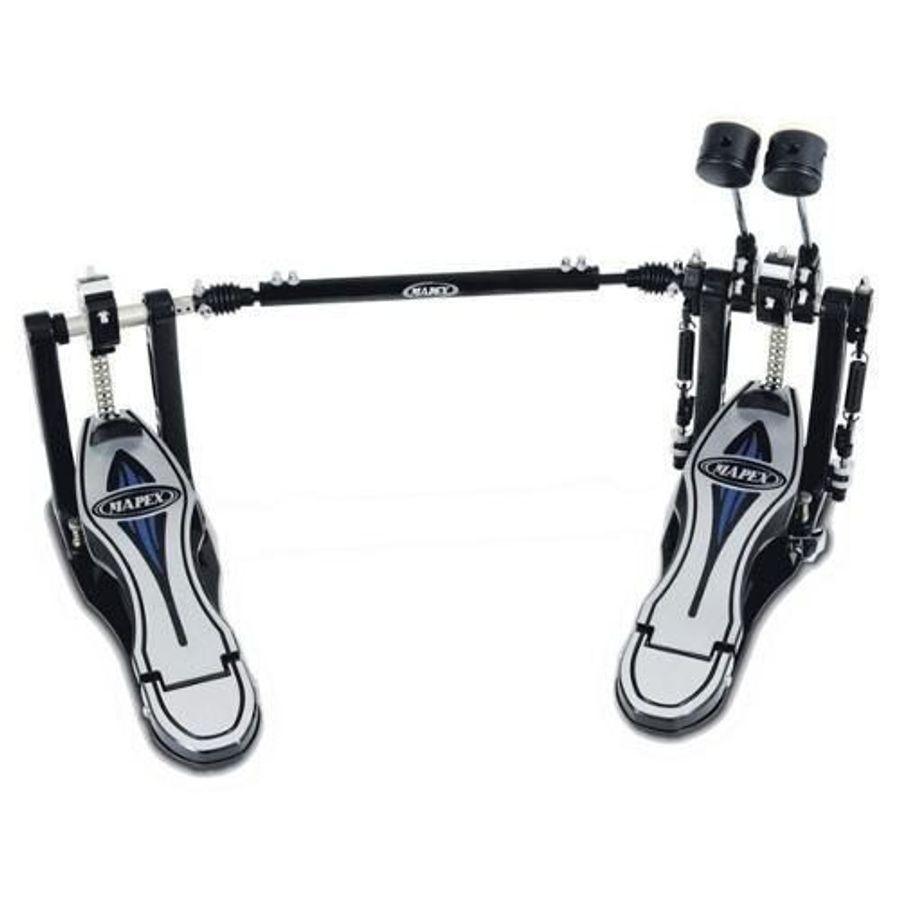 Pedal-De-Bombo-Doble-Mapex-Zurdo-Falcon-Con-Funda-Pf-1000ltw