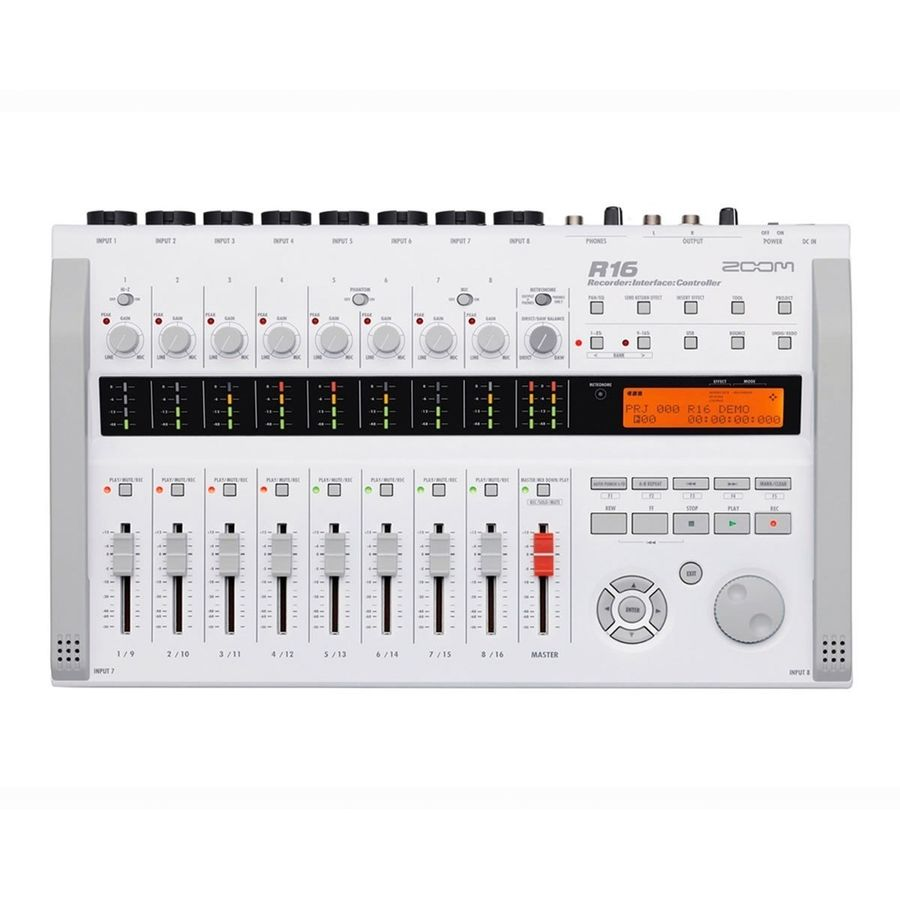 Grabador-Digital-Zoom-R16-Interfaz-De-Audio-Usb-Controlador-Y-Multipista-Con-9-Faders