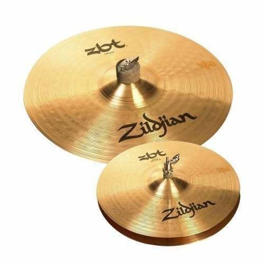 Set-De-Platillos-Zildjian-Zbt--Crash-18-Y-Hi-Hat-13-Zbts3p