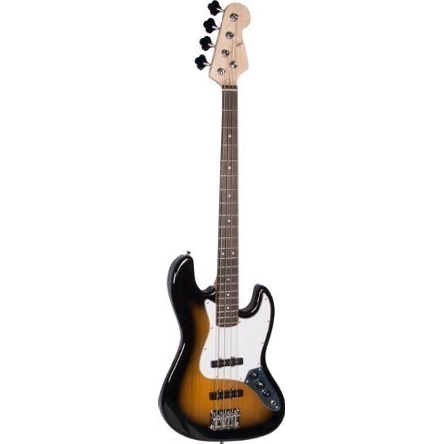 Bajo-Electrico-Texas-E81-2ts-Jazz-Bass-Sunburst