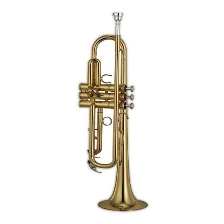 Trompeta-Knight-Jbtr300-Dorada-Con-Estuche-Rigido-Bb