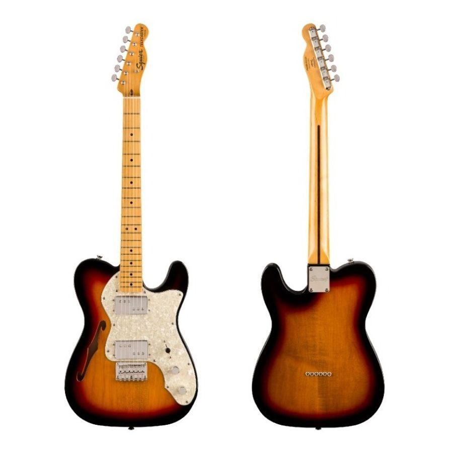 Guitarra-Electrica-Squier-By-Fender-Telecaster-Thinline-70s