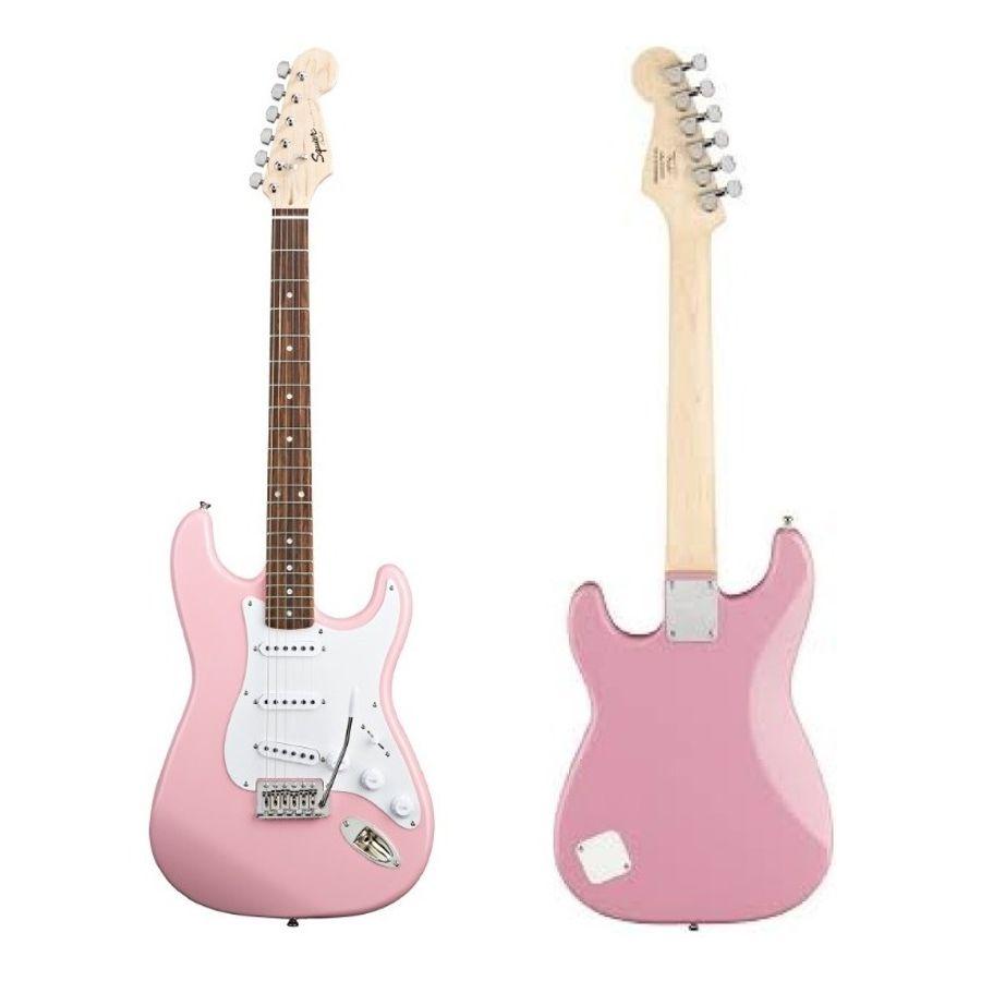Guitarra-Electrica-Squier-Stratocaster-Squier-Mini-Rosa