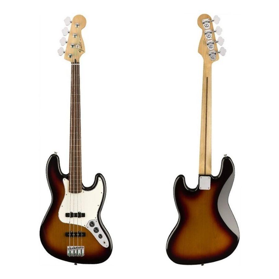 Bajo-Electrico-Fender-Jazz-Bass-Standard-Mexico-Fretless