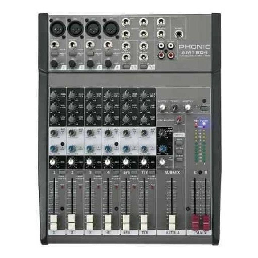 Consola-Mixer-Phonic-Am1204-De-4-Canales-Audio-Phantom