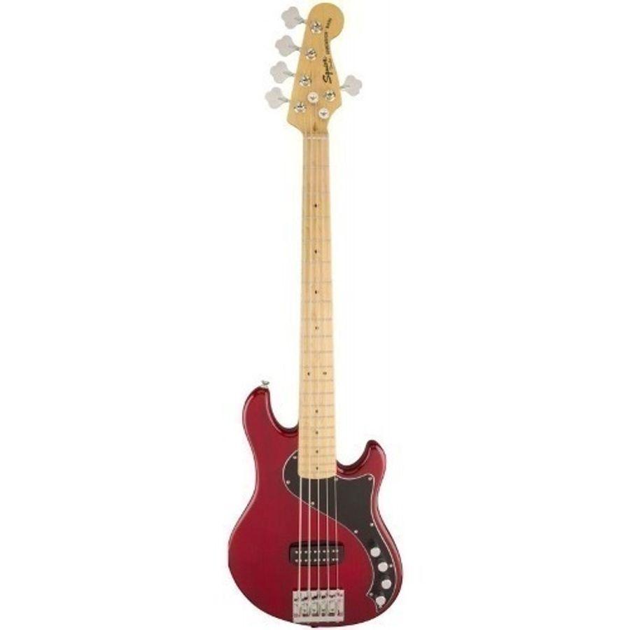 Bajo-Squier-Deluxe-Dimension-Bass-5-Cuerdas-Crimson-Red
