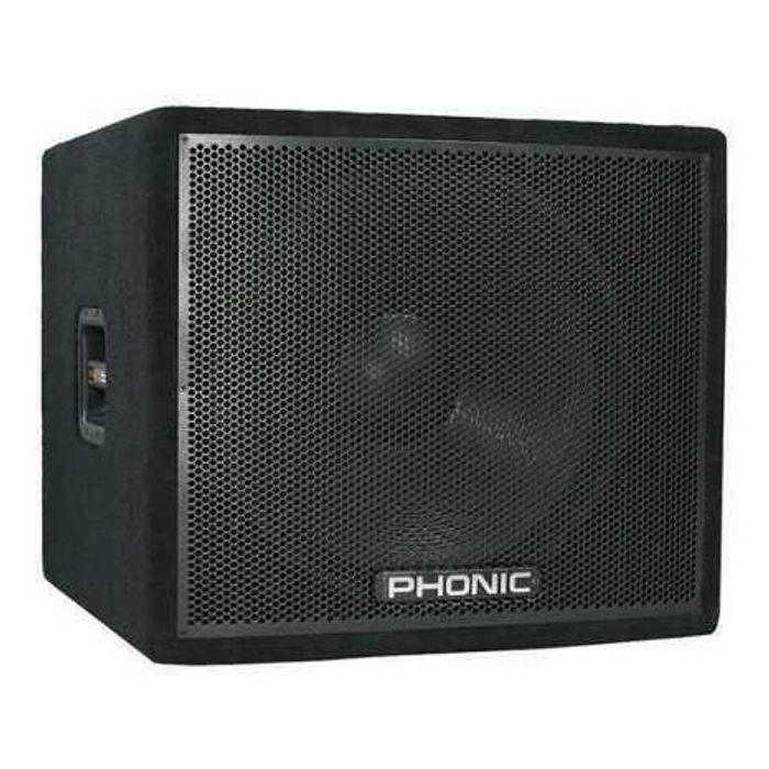 Phonic-Bafle-Subwofer-18-Pulgadas-300-Watts-En-4-Rms-Ask18sb-De-Largo-Alcance