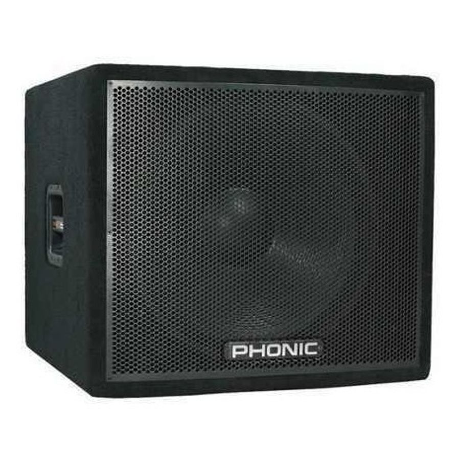 Phonic-Bafle-Subwofer-18-Pulgadas-300-Watts-En-4-Rms-Ask18sb-De-Largo-Alcance